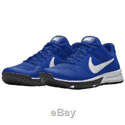 NIKE ALPHA HUARACHE VARSITY TURF Mens Baseball Cleats Shoes Blue Size 11