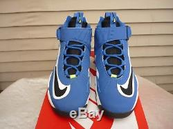 NIKE Air Griffey Max 1 Volt 10.5 blue neon af1 train lbj diamond turf speed mens