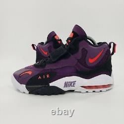 NIKE Air Max Speed Turf Deion Sanders Night Purple Shoes OG 525225-500 Size 10.5