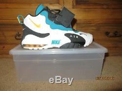 NIKE Air Max Speed Turf Miami Dolphin Dan Marino Mens Size 9