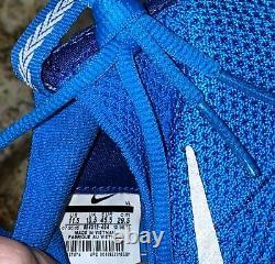 NIKE Alpha Sensory Turf Pho BLUE Football Training Shoes Sneakers Mens 10.5 11.5