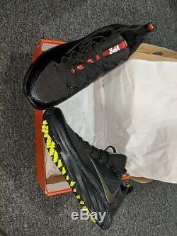 NIKE BLACK VAPOR UNTOUCHABLE SPEED TURF FOOTBALL SHOE sz 11 NEW SUPER BOWL L 11