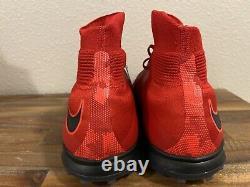 NIKE HYPERVENOMX PROXIMO II DF TF Red/Black/Crimson 852576 616 Mens Size 11