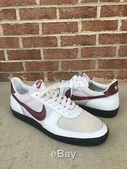 NIKE Men's 1982 Turf Trainer Rare White Shoes Leather Deadstock Vintage Size 15