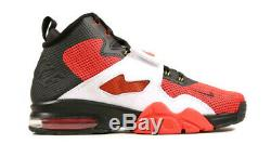 NIKE Men's Air Diamond Turf VI Shoes Red/White/Blk 725155-001 Size 12 MSRP $140