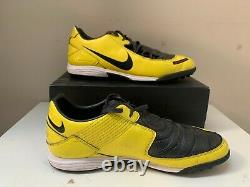 NIKE Total 90 YellowithBlack Laser Elite T90 TURF INDOOR TRAINERS Size 12 11 46