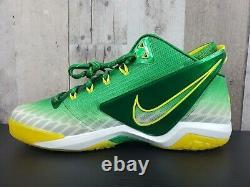 NIKE Zoom Field General Football Turf Shoes 9.5 Oregon Ducks Green 654859-371