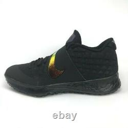 NIKE Zoom Force Trout 6 Turf Shoes Black/Gold Baseball AT3463-006 Mens sizes