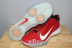 NWOB Nike Force Zoom Trout 5 Baseball Turf Shoes AH3374-601 Red Mens Size 12