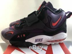 New 2017 Men Nike Air Max Speed Turf Deion Sanders Night Purple Shoes OG Size 11