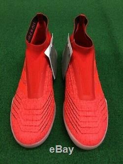 New Adidas Predator 19+ Tf F35800 Size 9 Turf Soccer Shoes Cleats
