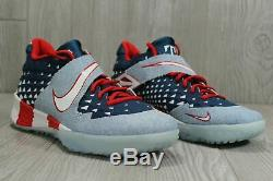 New Men's Nike Force Zoom Trout 6 Turf Premium'denim' At3881-400 Shoes Sz 13