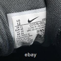 New (Men's Size 12) Nike Air Max 1 G Black White Turf Golf Shoes (CI7576-001)