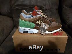 New Mens New Balance 1500 Coastal Cuisine Turf Brown Green Shoes M1500LN Sz 7