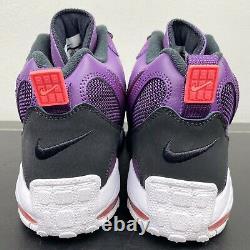 New Mens Nike Air Max Speed Turf Sz 13 Shoes Night Purple Crimson 525225 500