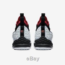 New Mens Sz 10 Nike Lebron XV Primediamond Turf (ao9144 100) White/white-black