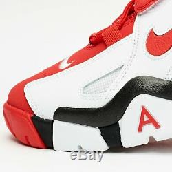 New Nike Air Barrage Mid AT7847-102 White/University Red Mens Shoes n1