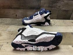 New Nike Air Barrage Mid White Midnight Navy Black AT7847-101 Mens Shoes