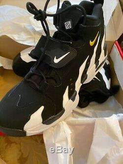 New Nike Air Diamond Turf DT Max 96 Men's 10.5 Shoes Deion Sanders 316408-003
