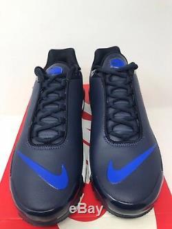 New Nike Air Max Plus TN SE AQ1088 400 Obsidian/ Racer Blue-White Men Size 9