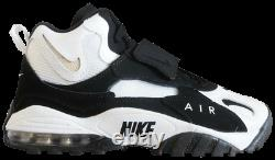 New Nike Air Max Speed Turf White Black Men's Shoes 525225-180 Size 9.5 & 10.5