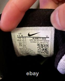New Nike Alpha Huarache Elite 2 Baseball Turf Shoes Oreo Size 11.5 AJ6877-004