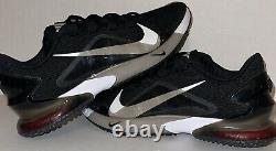 New Nike Force Zoom Trout 7 Turf Baseball Shoes Mens Size 9 Black