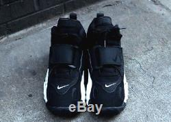 New Nike Men's Air Max Speed Turf Shoe (525225-011) Black//White-Voltage Yellow