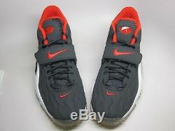 New Nike Men's Air Zoom Turf Jet 97 Shoes (554989-004) Anthracite/Pimento-White