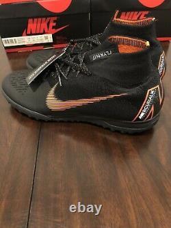 New Nike Mercurial Superfly X 6 Elite TF Turf Soccer Shoe ACC AH7374-081 Sz 10.5