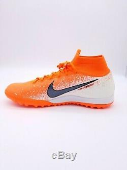 New Nike SuperflyX 6 Elite TF Artificial-Turf Soccer Shoes AH7374-801. MSRP $175