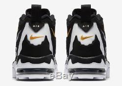 New Sz 14 Men Nike Air DT Max 96 Black White Gold 316408 003 Deion Diamond Turf
