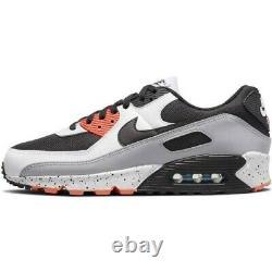 Nike AIR MAX 90 White/Black-Turf Orange Aqua Mens Shoes Size 9 DC9845 100