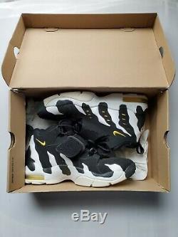 Nike Air DT Max 96 Deion Sanders 316408-002 White/Black Men's Size 10.5