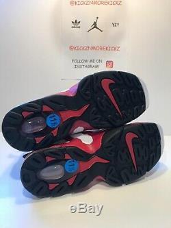 Nike Air DT Max 96 Deion Sanders Diamond Turf 316408-161 Men Size 12 Red Black