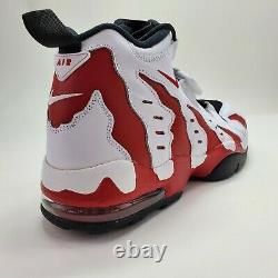Nike Air DT Max 96 Deion Sanders Diamond Turf Mens 12 Red White 316408-161 NEW