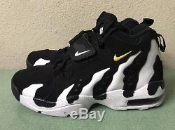 Nike Air DT Max 96 White Black Gold Mens Sz 10 Diamond Turf Deion Trainers NEW