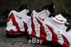 Nike Air DT Max 96 White Red Black Deion Sanders Diamond Turf LIL WAYNE Men's 12