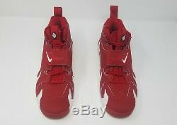 Nike Air DT Max Deion Sanders NEW Size 10 Diamond Turf 316408-600 Red/White/Blk