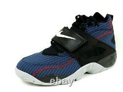 Nike Air Diamond Turf 309434 500 Purple Leather Basketball Mens Shoes Vintage DS