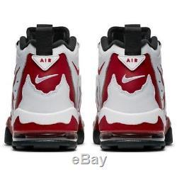 Nike Air Diamond Turf DT Max 96 Deion Men's Shoe 316408-161 Red White Size 8-13