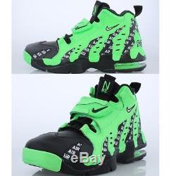 Nike Air Diamond Turf DT Max 96 Deion Sanders Green Men s Comfy Lifestyle  Shoes d1fbdfe74
