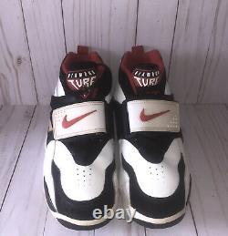 Nike Air Diamond Turf Deion Sander Signature Shoe 309434-105 size 8.5