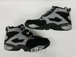 Nike Air Diamond Turf Deion Sanders Size Men's 11 2005 Deadstock New Black Grey