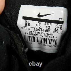 Nike Air Diamond Turf Emerald'Deion Sanders' Shoes 309434-013 Men Size 9.5
