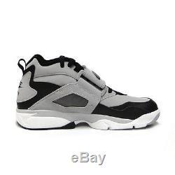 Nike Air Diamond Turf Grey Black 309434-012 Mens US Size 9.5