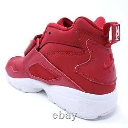 Nike Air Diamond Turf Gym Red/White Deion Sanders Shoes 309434-600 Mens Sz 8