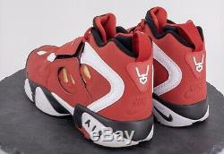 Nike Air Diamond Turf II Mens Shoes Deion Sanders 49ers Red Gold White Size 9.5