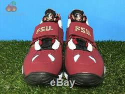Nike Air Diamond Turf II PRM QS Mens 14 Florida Seminoles FSU Sanders Trainers