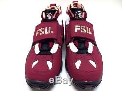 Nike Air Diamond Turf II Prm Qs Fsu Florida State Maroon Sz Men's 9 700867-600